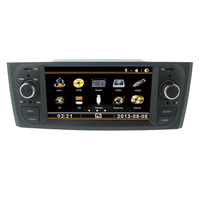 Car DVD GPS for Fiat Grande Punto Linea old Central Multimedia with Bluetooth RDS iPod function 3G USB host CANBUS audio mic