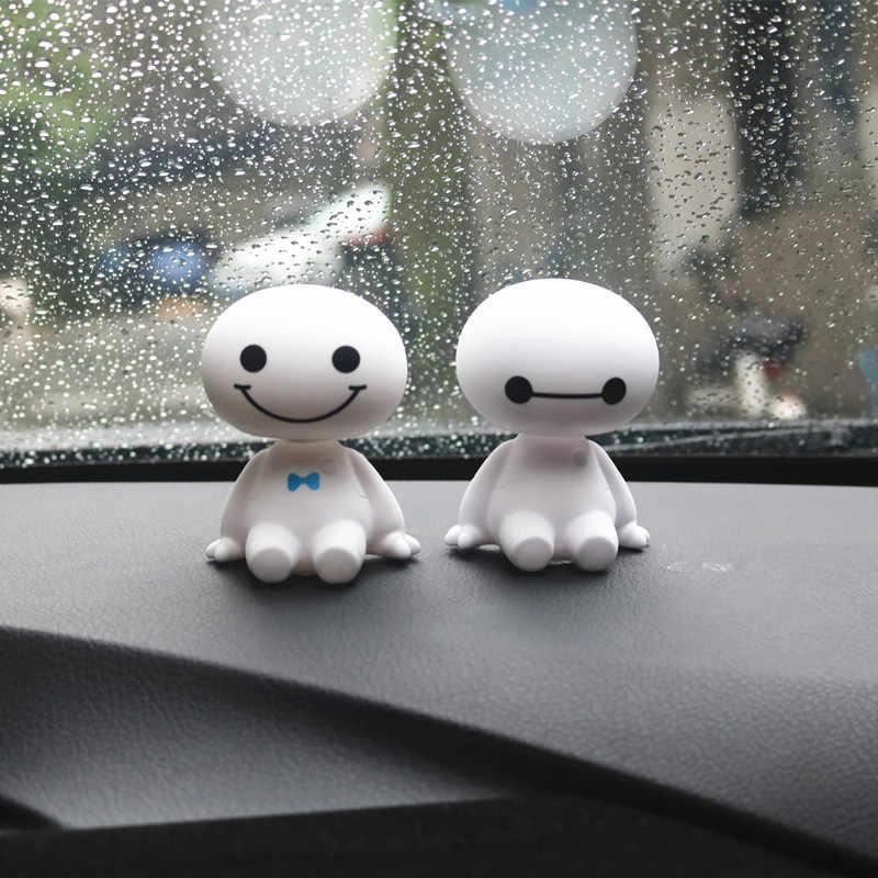 زينة داخلية للسيارة ملصق هز الرأس لسيارة فيات بونتو 500 ستيلو برافو غراندي بونتو باليو باندا لينيا أونو ماريا