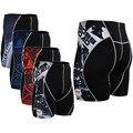 Оригинальные Мужские Печати Сжатия Шорты = Тяжелой Атлетике Облегающие Шорты Новая Мода ММА Бодибилдинг