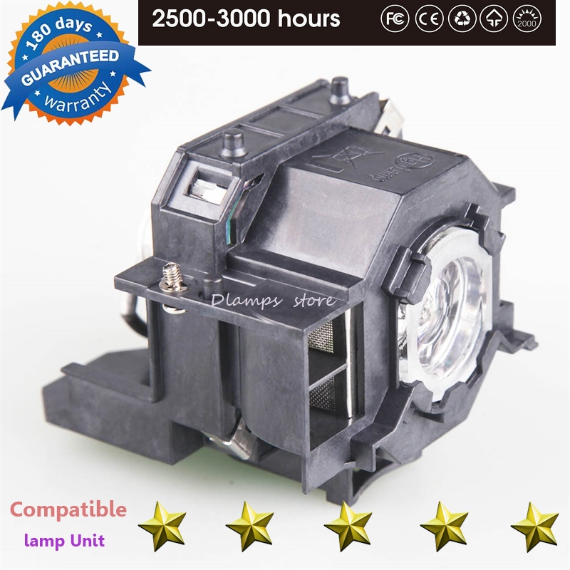 High Quality ELPLP42 New Replacement Projector Lamp with Housing For EPSON EMP-400W EB-410W EB-140 W EMP-83H PowerLite 822 H330B replacement projector lamp elplp32 v13h010l32 for epson emp 750 emp 740 emp 765 emp 745 emp 737 emp 732 with housing