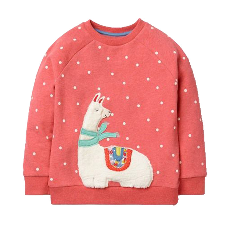 Mutter & Kinder Baby Mädchen Tops Kinder T Shirts Langarm Herbst Winter Kinder Fleece T Hemd Warme Cartoon Baumwolle Sweatshirts Mädchen Kleidung GroßE Auswahl; Jungen Kleidung