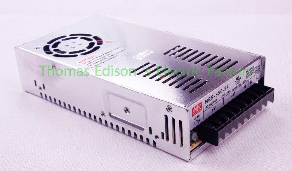 mean well power suply 24v 350w 14.6a AC to DC power supply NES-350-24 ac dc converter  Original high quality NES dmwd power suply 24v 201w ac to dc power supply ac dc converter high quality s 201 24