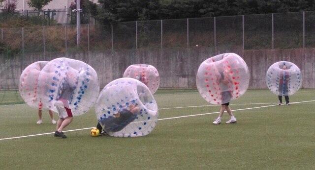 El envío gratuito! medio de color 1.7 M 0.8mm PVC grandes pelotas inflables 8dcb24bfa643