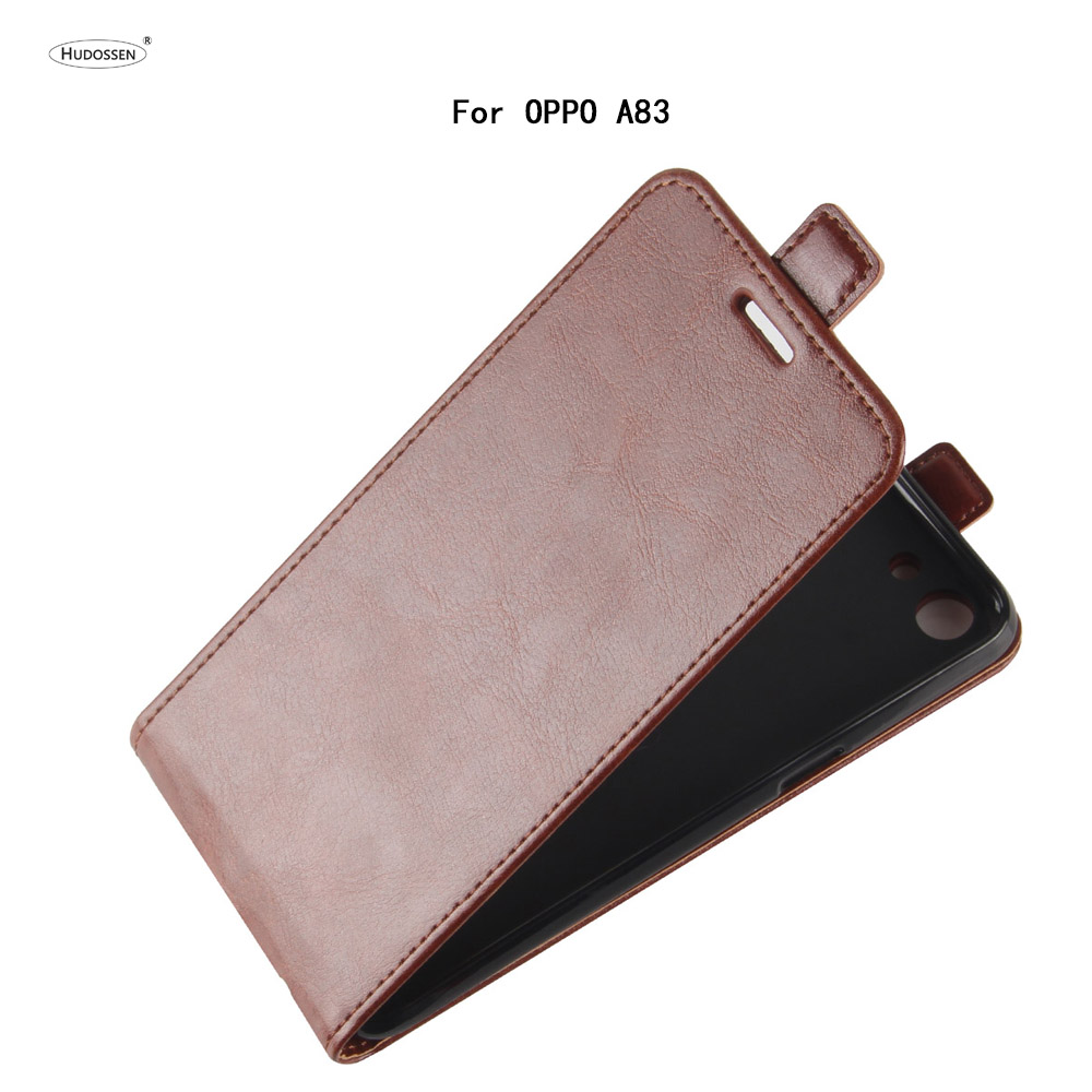 HUDOSSEN For OPPO A83 A 83 Case Luxury PU Leather Back Cover Coque For OPPO A83 Case Flip Protective Phone Bags Skin Para Fundas