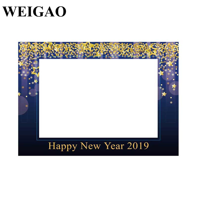 Weigao Happy New Years Eve 2019 Photo Frame Props New Year