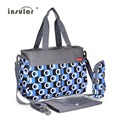 Insular Multifunction Bolsa Maternidade Waterproof Big Capacity Baby Diaper Bag for Mom with Accessories