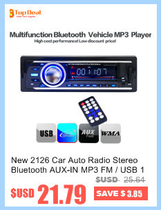 New Car Audio Stereo FM Radio MP3 Player LCD Display 12V 25W X 4CH Support  With USB SD MMC Port Vehicles Electronics In Dash -in Car Radios from