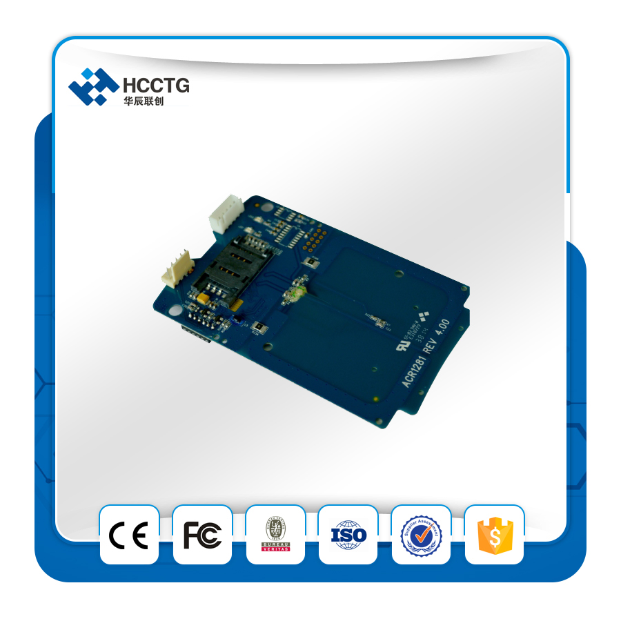 sam слот - USB NFC Card Reader Module with SAM Slot ACM1281U-C7 Smart Card Reader Module
