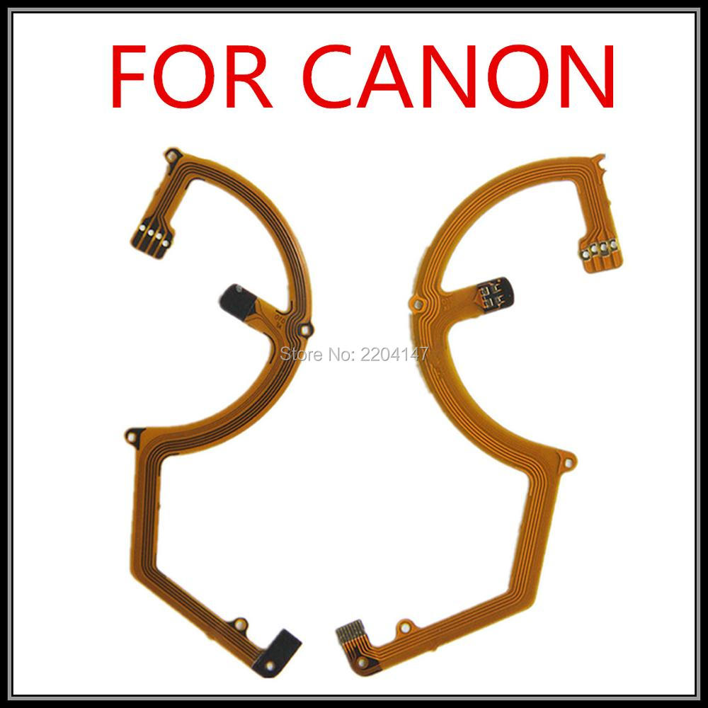 2 Pieces New Len Back Main Flex Cable Ribbon Repair Replacement For Canon G10 Digital Camera with connect