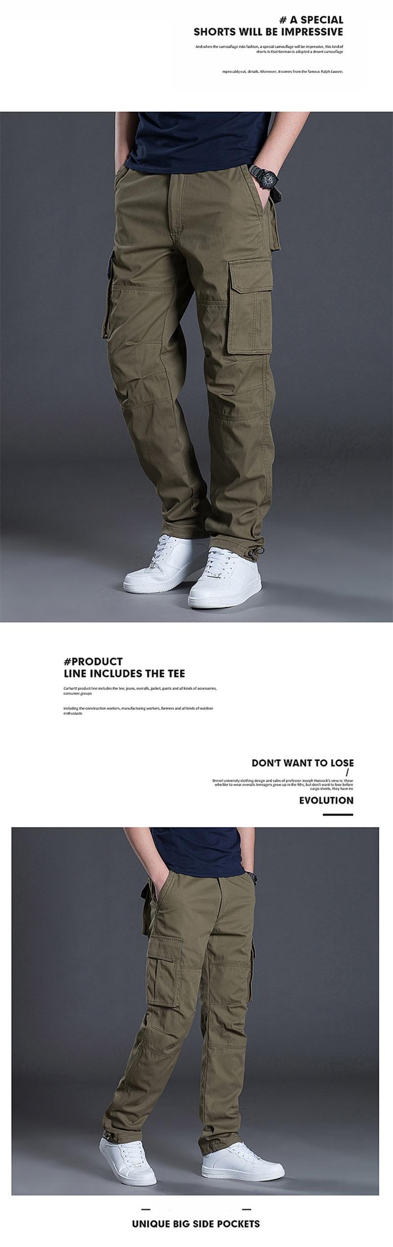 Esportazione di commercio estero degli uomini di multi tasca dei pantaloni di sport di polizia speciale casuale degli uomini Europei e Americani di