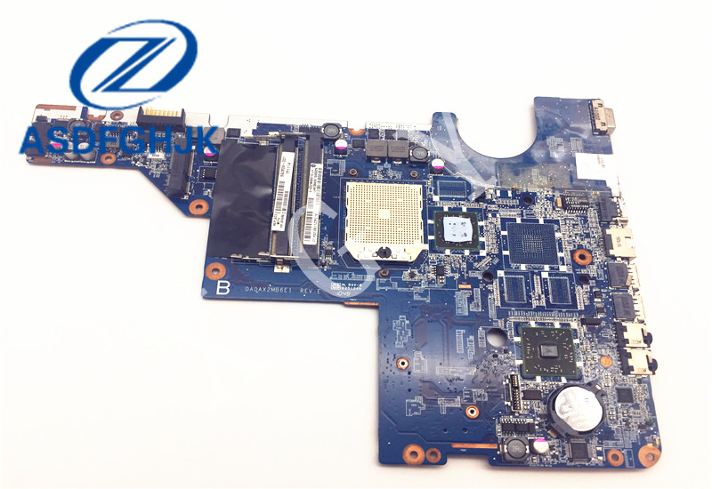 DA0AX2MB6E1 592809-001 Laptop Motherboard for Compaq presario CQ42 CQ62 for HP G42 G62 Motherboard DDR3 Integrated 100% test ok