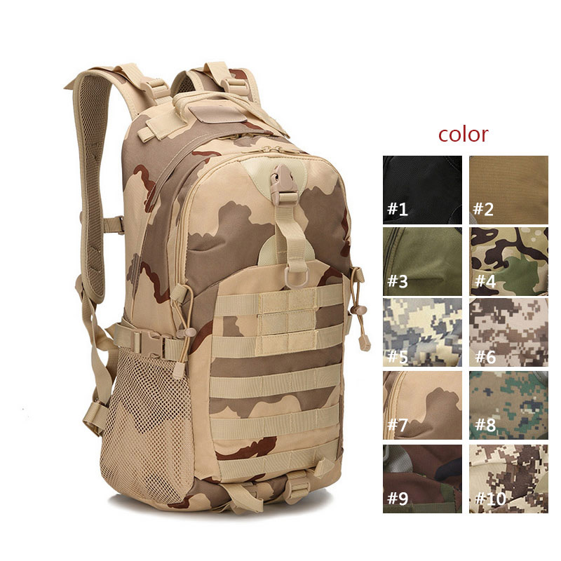Men Women  Military Army  Backpack Trekking  Travel Rucksacks Trekking Camouflage Bag Lby2017