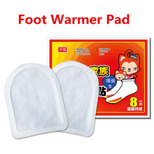 Foot Warmer Pad Sticker Paste Patch Warm Product 10Hours Socks Christmas Present Sanitation Anti Winter Inside socks shoes toes
