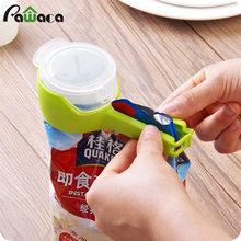 Utility Healthy Food Sealing Clip with Discharge Nozzle Plastic Bag Moisture Sealing Clamp Colorful Clamp Sealer