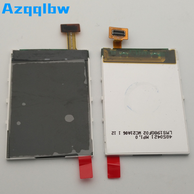 Azqqlbw 10 قطعة/الوحدة لنوكيا C2 C2 01 LCD عرض تعمل باللمس محول الأرقام دون شاشة تعمل باللمس لنوكيا C2 C2 01 أجزاء الشاشة