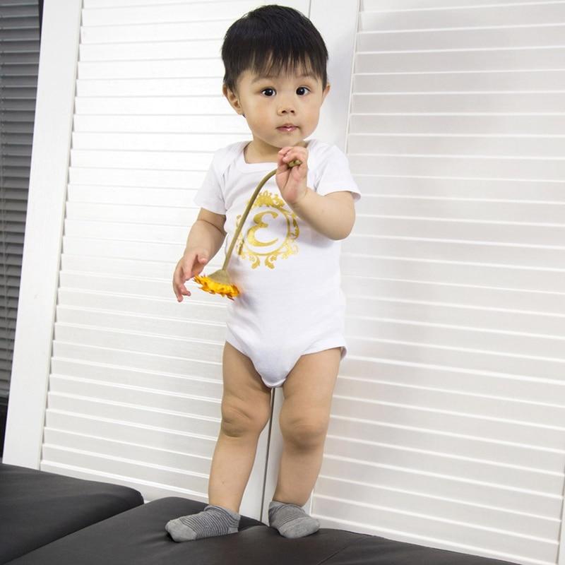 Baby Rompers 2018 Short Sleeve Panda Printed Cotton Overalls Newborn Clothes Roupas De Bebe Boys Girls Jumpsuit&Clothing