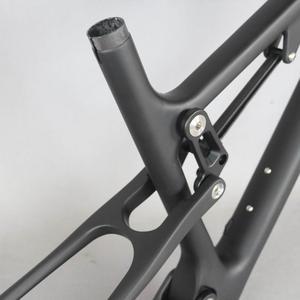 Image 3 - 29 Full Suspension 142*12mm MTB Bicycle Carbon frame 29er with 135*9mm /29er boost suspension  148*12 mountain bike frame FM078