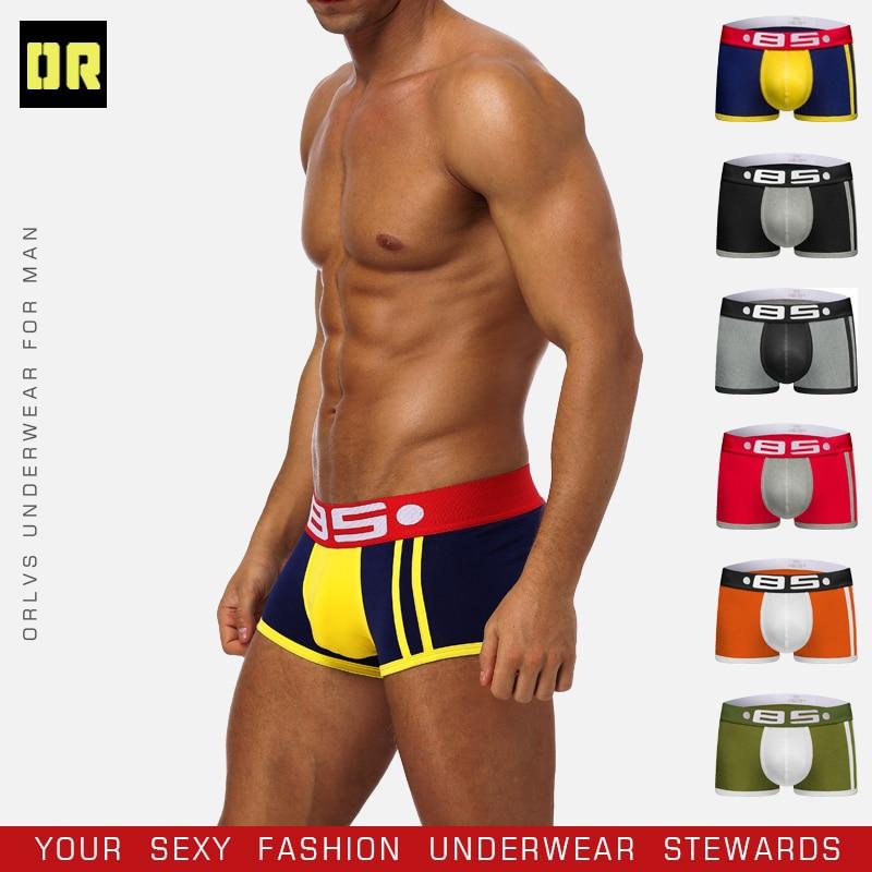 BS Brand Boxer Sexy Underwear Men Gay Men Bikini Slip Homme Hombre Man Pouch Underwear Male Fashion Man 2019 Boxers BS70