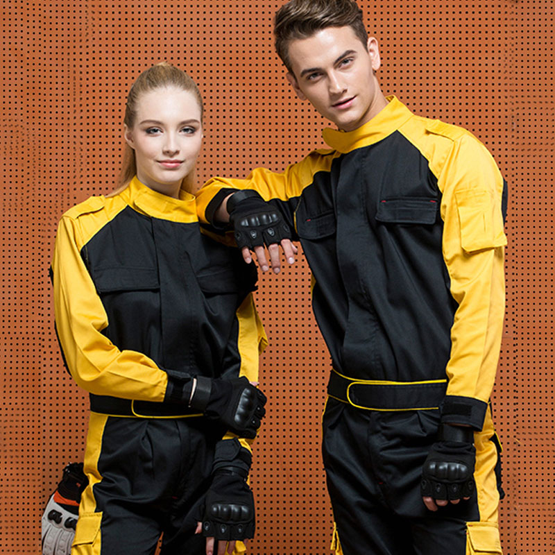 1set Auto Beauty cloth overalls repair Long sleeve tooling auto repair overalls suit men wear protective clothing breathable