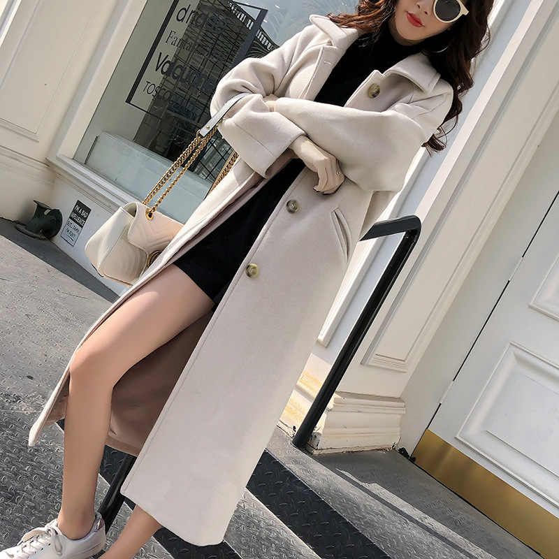 Mode Winter Trenchcoat Voor Vrouwen Lange Jas Vrouwen Plus Size lingerie manteau femme hiver abrigos mujer invierno 2018