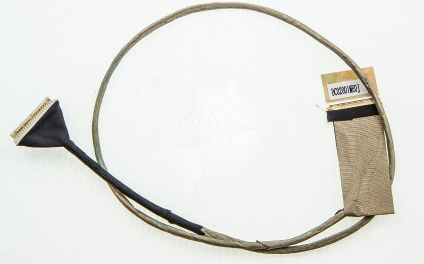 WZSM NEW laptop LCD Cable For LENOVO Ideapad Y500 QIQY6 Video Flex Cable DC02001ME0J