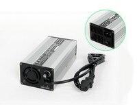 Invólucro de alumínio Veículo Elétrico Carregador 48 12S V (50.4V CV) 10amp Li ion/Carregador LiPoly Bateria|charger charger|charger 48v|li-ion battery charger -