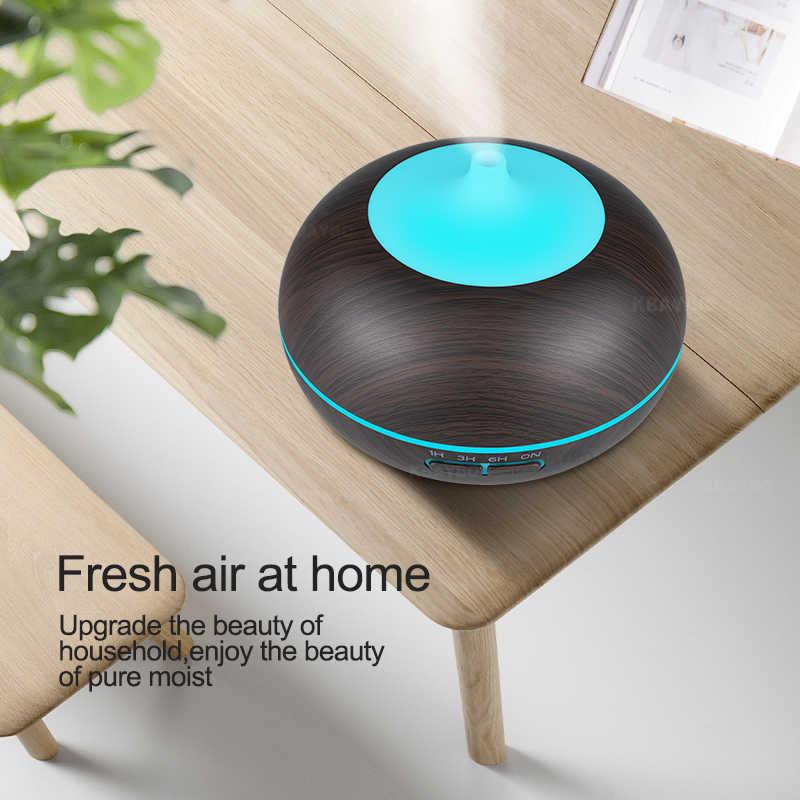 Air Humidifier Aroma Diffuser 7 สีเปลี่ยนไฟ LED Cool Mist Maker เครื่องฟอกอากาศสำหรับ Home