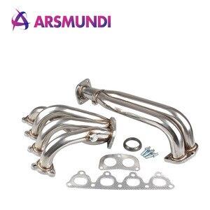 Stainless Steel Pipe Header Manifold Exhaust for Honda Civic 88-00 EK EG /For D-SERIES Engine SOHC Exhuast Header