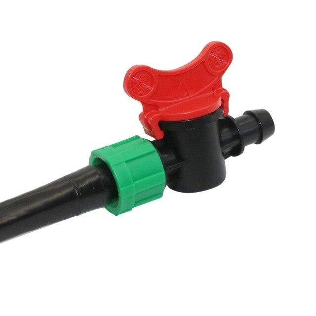 Agricultura 16mm kit fita do Gotejamento cinto de irrigação Por Gotejamento Sistema de Rega Flat Agilizar Soaker Mangueira 15/20/30 centímetros de Espaço Mangueira
