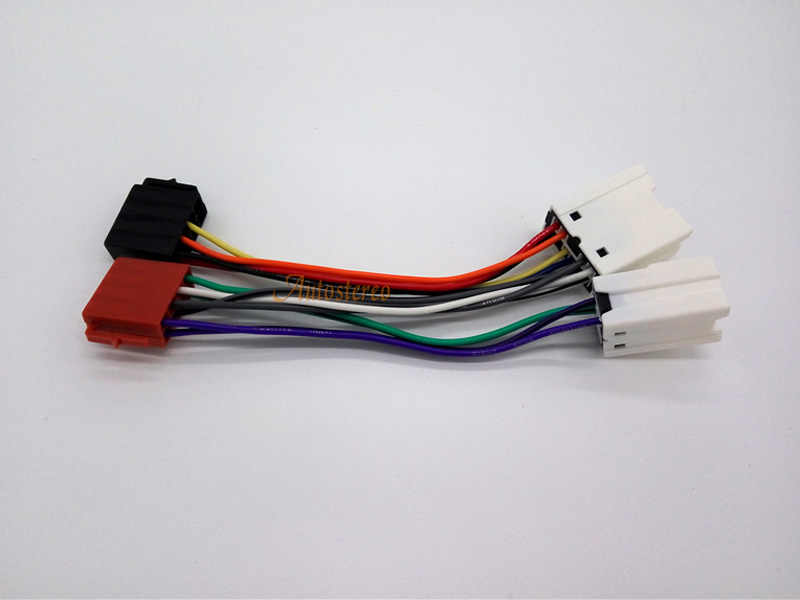 Detail Feedback Questions about ISO Lead Stereo Radio Wiring Harness