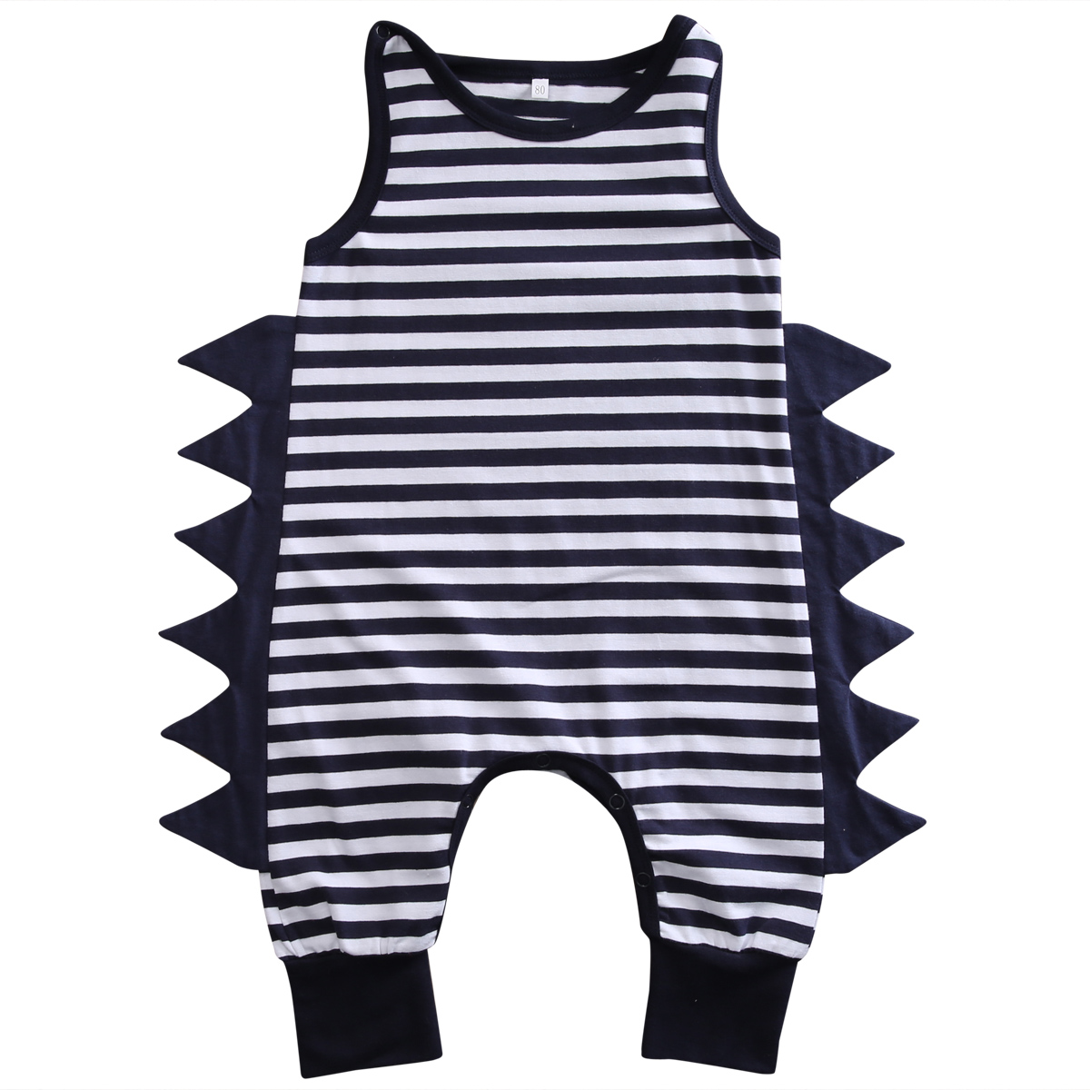 Cotton Newborn Baby Boy Clothes Sleeveless   Romper   Jumpsuit Playsuit Striped Outfit Clothing Boys Summer 0-24M