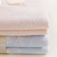 110 110cm Cotton Muslin Baby Blanket Newborn Infant Swaddle Baby Towel Luxury 6 Layers Muslin Blanket