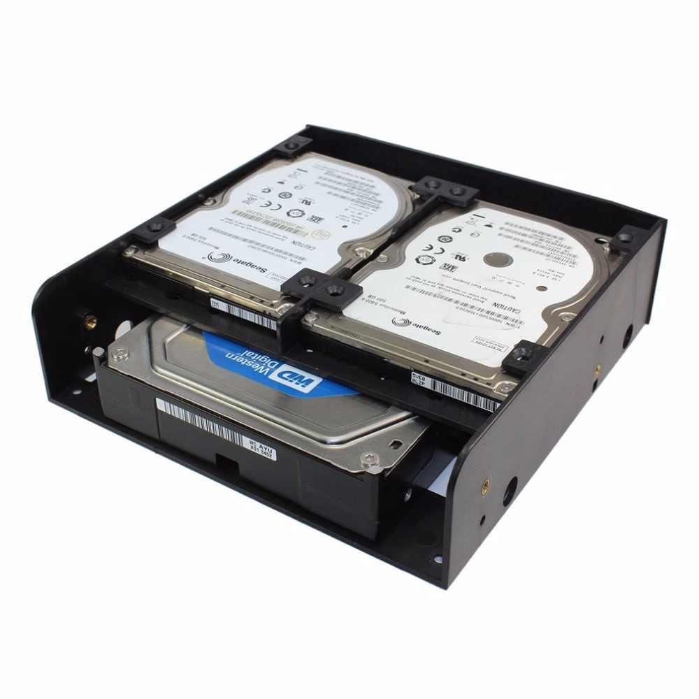 OImaster Multi-functionele Hard Drive Conversie Rack Standaard 5.25 Inch Apparaat Wordt Geleverd met 2.5 inch/3.5 inch HDD montage schroef