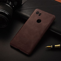 Luxury Brand Design Genuine Leather Back Cover Case For Google Pixel 2 XL Phone Cases And
