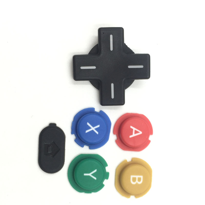 ABXY Cross Press Key Button Repair Part Replace For NEW Nintendo 3DS Console
