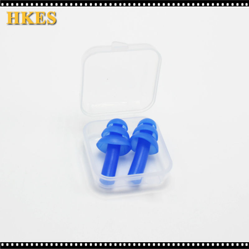 Blue Soft Foam Ear Plugs Sound insulation ear protection Earplugs anti-noise sleeping plugs for travel foam soft noise reduction ada instruments 3d liner 4v