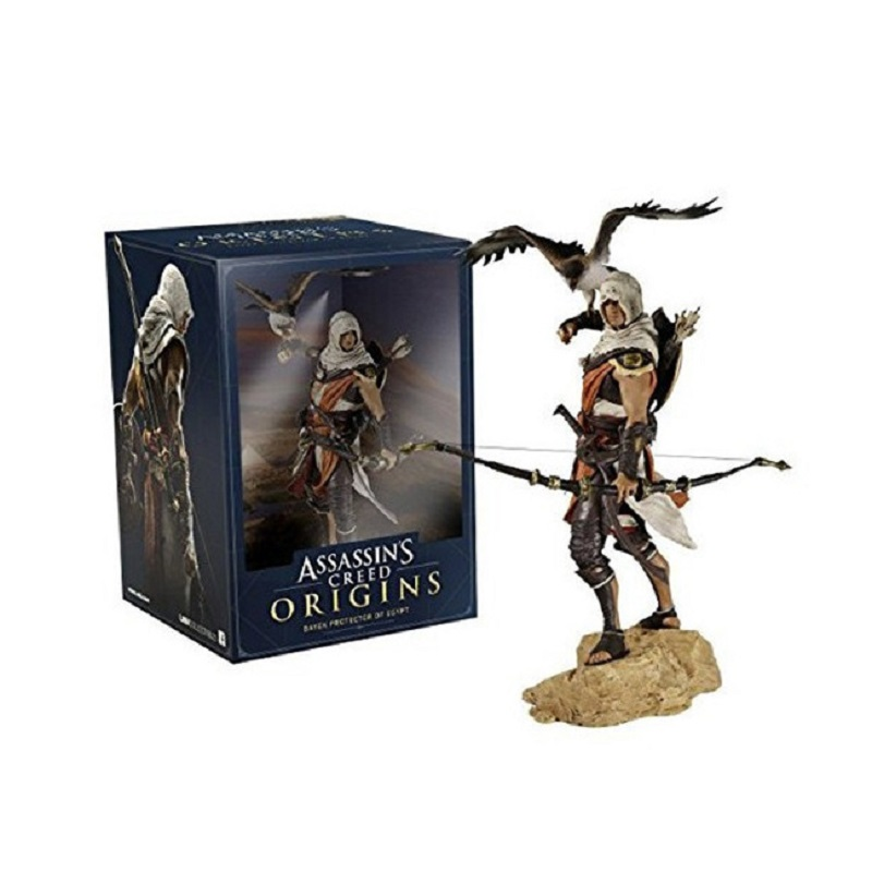 28cm Anime Assassin's Creed Altair Pvc Display Model Doll Cartoon Assassin's Creed Model Toys Children Birthday Jouet Gift assassin creed altair player 7 pvc action figures low price toys for boys birthday gift with box ck0003