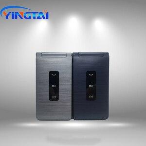 Image 3 - Celular yingai t39l original, telefone gsm, com flip, fm, dual sim, 2.8 polegadas, botão clamshell, desbloqueado, 2g celular móvel