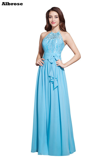 Robe bleu turquoise pas chere