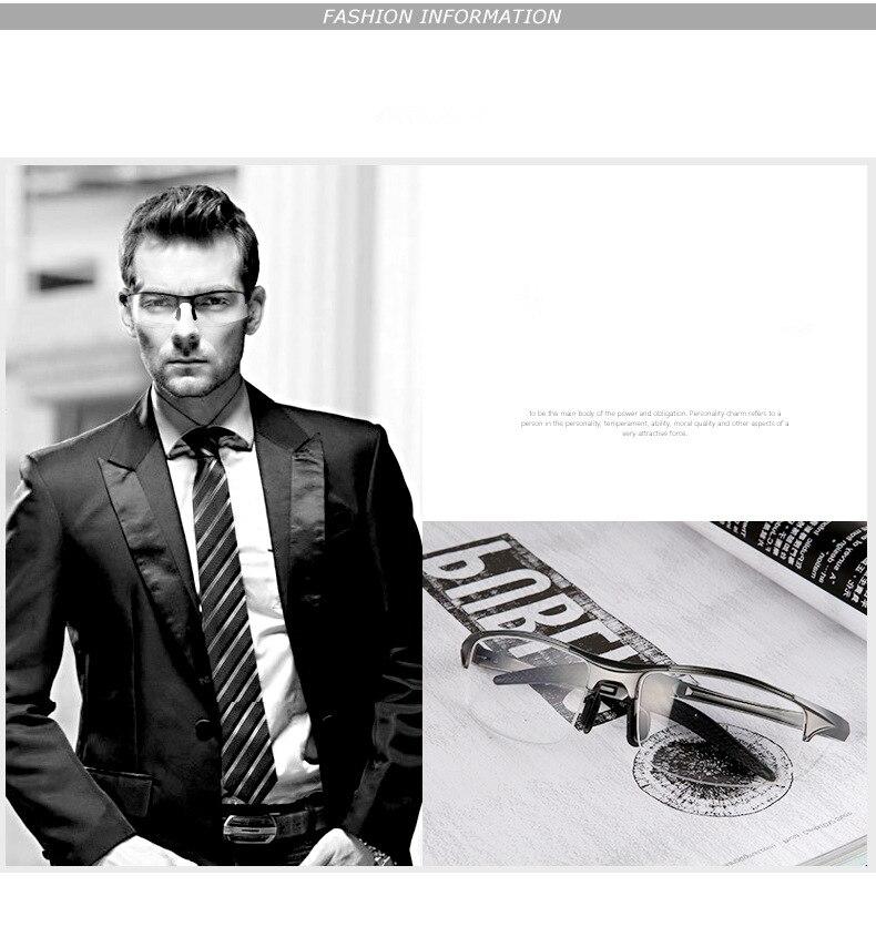 Augstas kvalitātes alumīnija magnija rāmja brilles vīriešiem - Apģērba piederumi - Foto 5