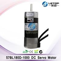 Brand New! 57 BL 180D 1000 36V DC Servo Motor for solvent printer work with ACS606 Driver Printer