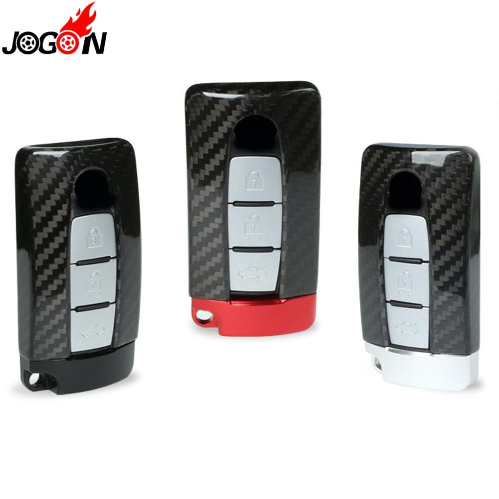 For NISSAN R35 GTR G-TR 370Z 350Z Carbon Fiber Smart Remote Key Fob Case Bag Shell Holder Cover genuine carbon fiber car auto remote key case cover fob holder skin shell for mercedes benz w213 e200 300 car styling 2017