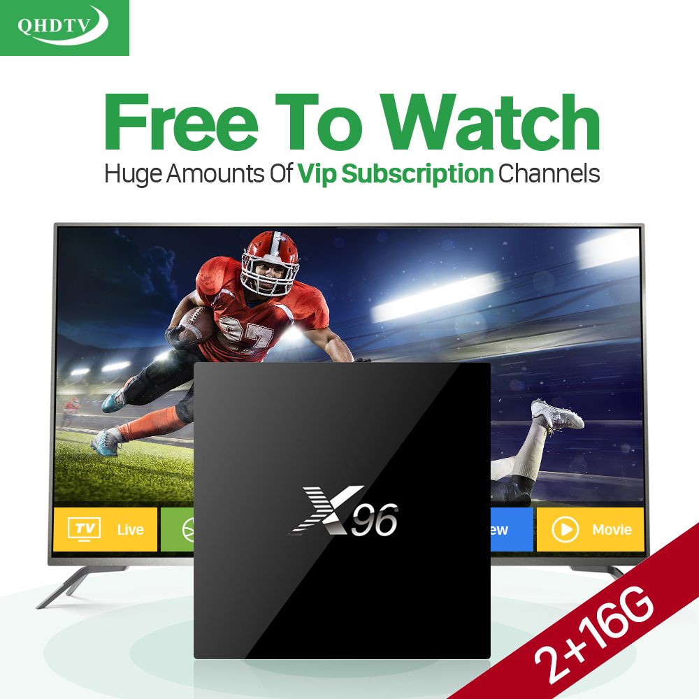 Arabisch IPTV Europa Abonnement 1 Jahr QHDTV Konto 4 Karat HD Live...