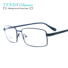 Business Men Full Rim Titanium Flexible Eyeglass Frames For Reading Glasses