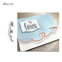 JC Metal Cutting Dies Scrapbooking Direction Rotate Arrow Die Cut Card Make Stencil Craft Folder Handmade Album Alinacrafts
