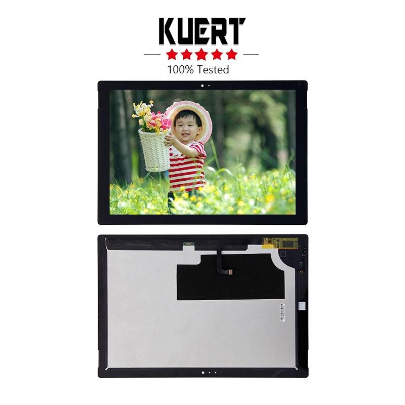 Livraison Gratuite Pour Microsoft Surface Pro 3 1631 Numériseur Assemblée D'affichage d'affichage à Cristaux Liquides D'écran Tactile De Remplacement