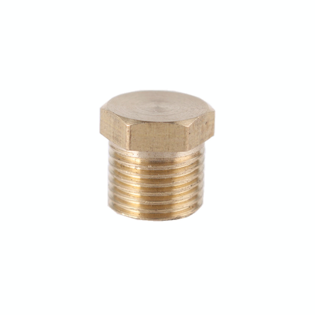 "Brass 1//8/"" 1//4/"" 3//8/"" 1//2/"" NPT Brass Internal Hex Thread Socket Pipe Plug FL"