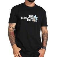 Mayma Rick et Morty t-shirt Cool Anime décontracté la Science visage t-shirt Geek 100% couverture en coton t-shirt taille de l'ue