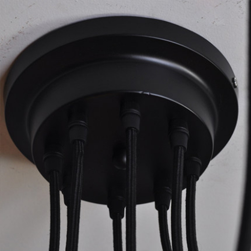 Mordern Nordic Retro Edison Lampa İşıq Çilçıraq Vintage Loft - Daxili işıqlandırma - Fotoqrafiya 6