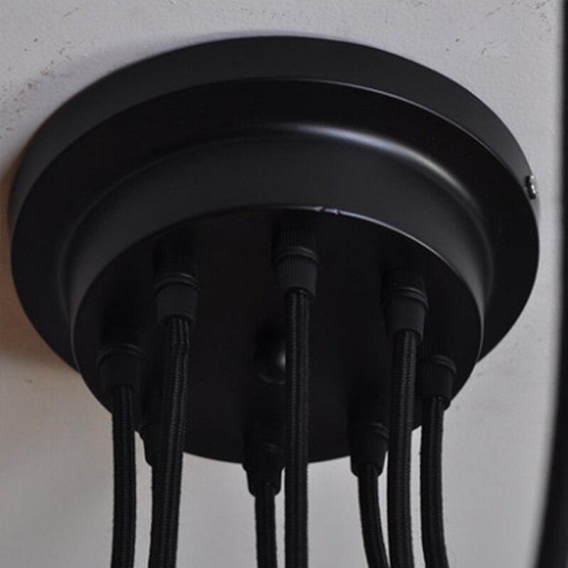 Mordern Nordic Retro Edison žarulja luster Vintage potkrovlje - Unutarnja rasvjeta - Foto 6